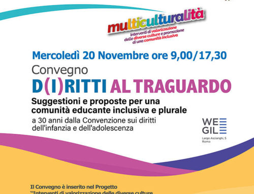 Invito al Convegno – 20 Novembre 2019